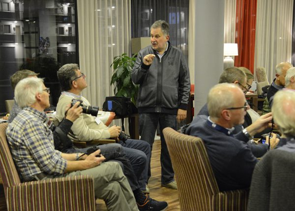 Workshop Belichting met Julius Visser (05-11-2018)